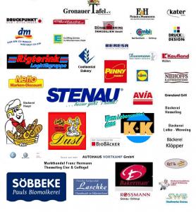 Die Sponsoren der Gronauer Tafel